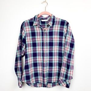 🌼2/$22🌼Riders by Lee Long Sleeve Plaid Button-Up